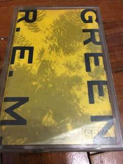 Collector's Item / REM Green Cassette Tape