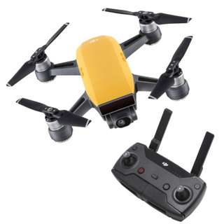 DJI Spark Yellow Drone With Remote Controller (Brand new)