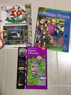 IQ puzzles/Games book