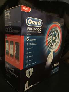 Oral-B Pro 6000 Electric Toothbrush 電動牙刷