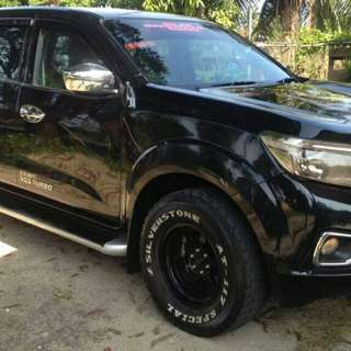 Sambung bayar Navara NP300 V spec leather seat