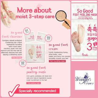Prreti 3step foot peeling mask
