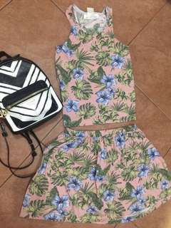 Summer Crop Top Dress