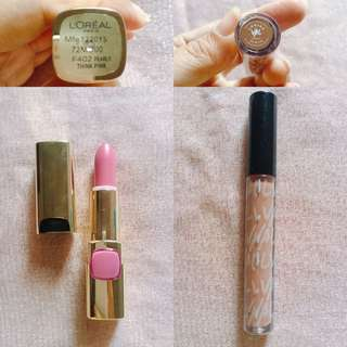 Val lipstik & loreal paris