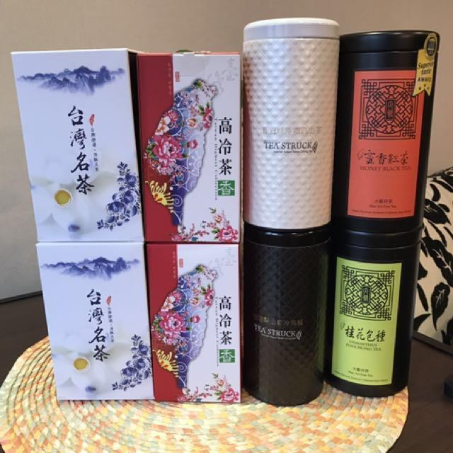 台灣茗茶大集合(3款1000)