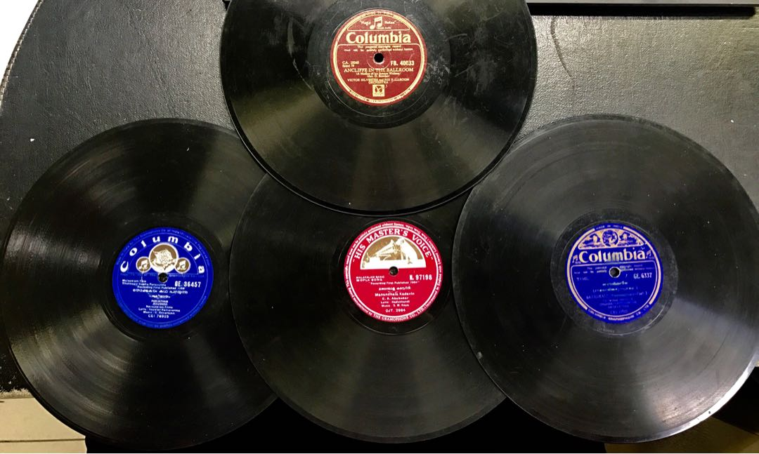 4 x 78rpm Records - Made in India