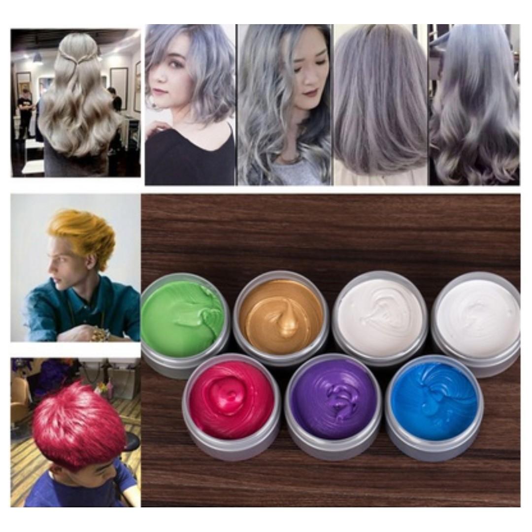 Temporary Hair Dye Cream Hair, Health & Beauty, Hair Care on Carousell
