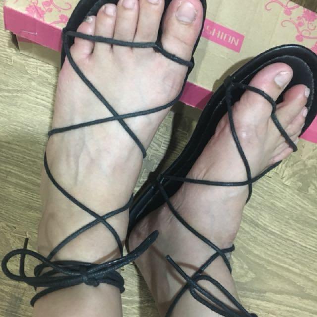⭕️綁帶涼鞋