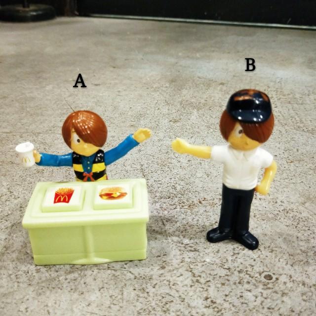 日本 2009 鬼太郎 眼球老爹 貓女 速食店 麥當勞 限定 玩具 印章 擺飾 互動 絕版 收藏 稀少 稀有