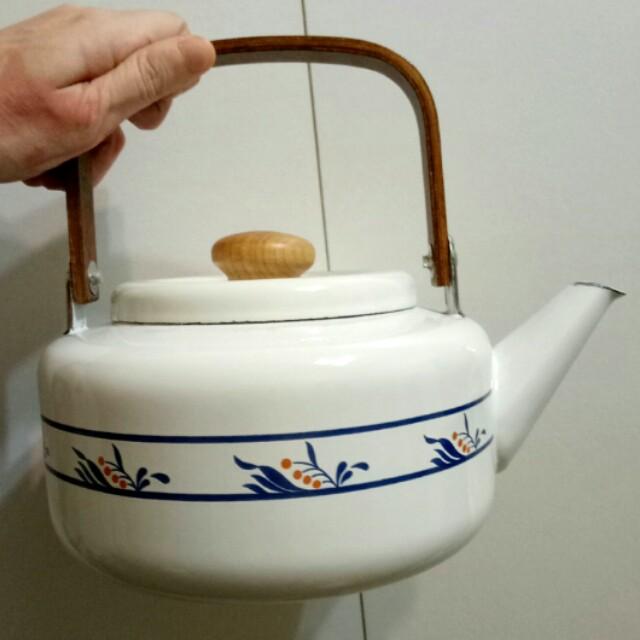 琺瑯手沖壺 茶壺