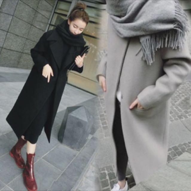 韓版大衣外套 英倫風