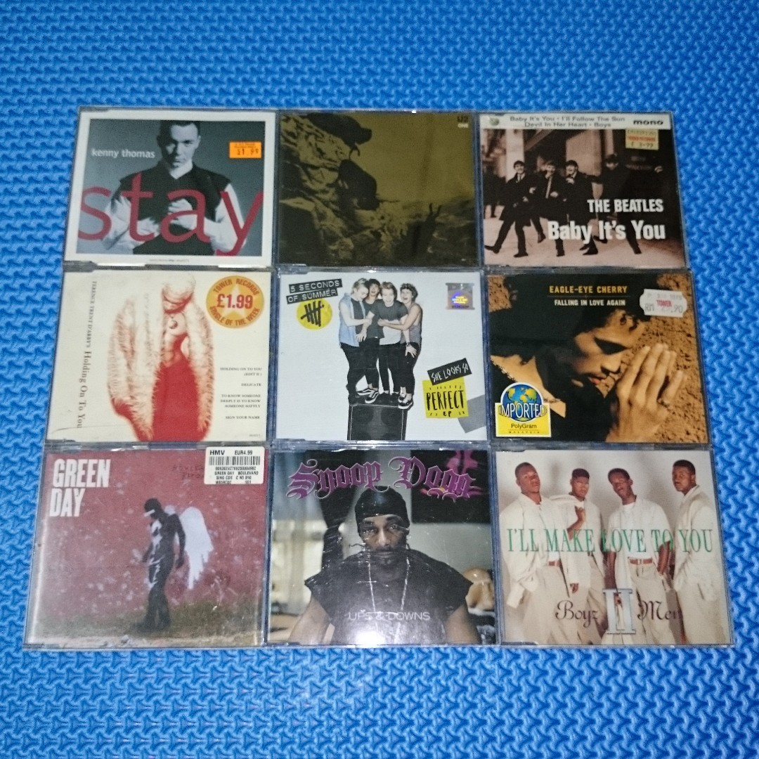 🆒 Assorted CD Single/E.P. Audio CD