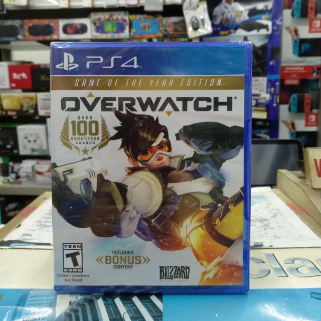 🆕 PS4 OVERWATCH Game Of The Year Edition