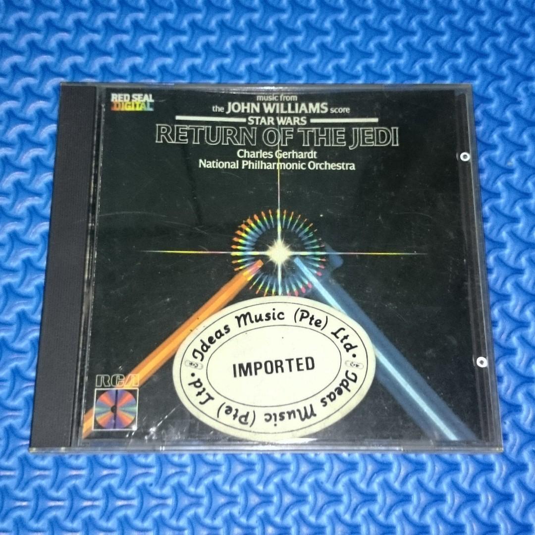🆒 Star Wars: Return Of The Jedi Original Soundtrack/OST [1983] Audio CD