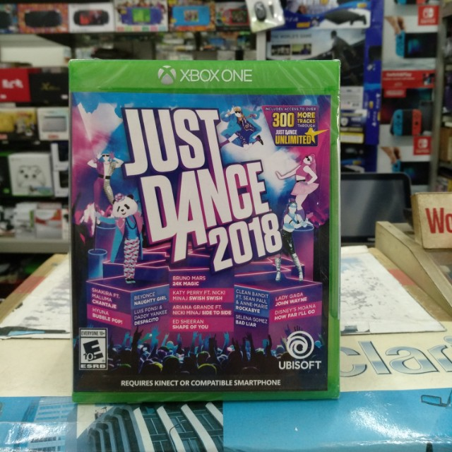 🆕 Xbox One Just Dance 2018