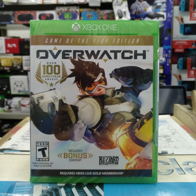 🆕 Xbox One OVERWATCH Game Of The Year Edition