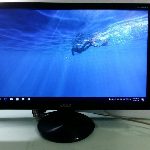Acer20吋16:9二手液晶螢幕