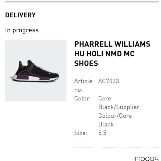 12ffc68de Adidas pharrell hu holi NMD