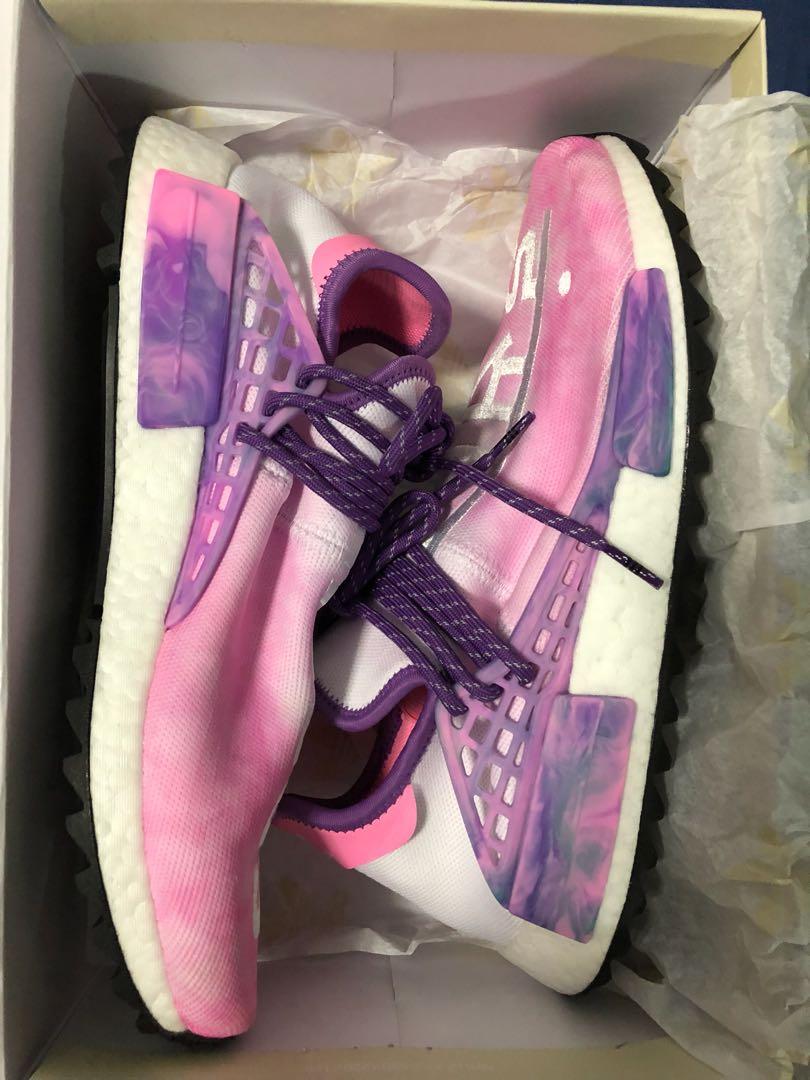 9a96b91a1 Adidas Pharrell William Human Race Trail Holi Pink Glow