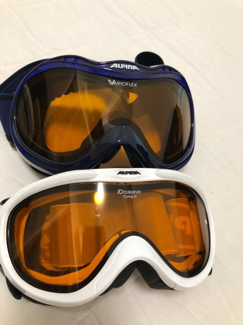 Alpina Ski Goggles Sports Sports Games Equipment On Carousell - Alpina goggles