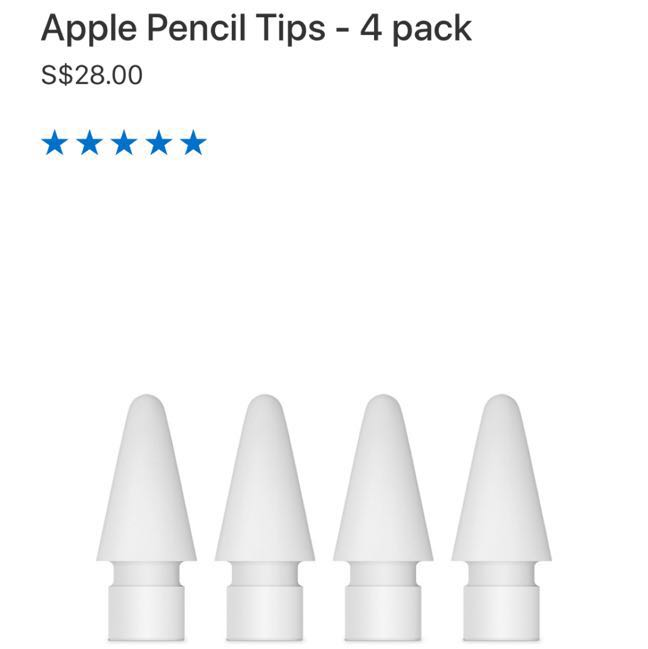 Apple Pencil Tips - 4 pack