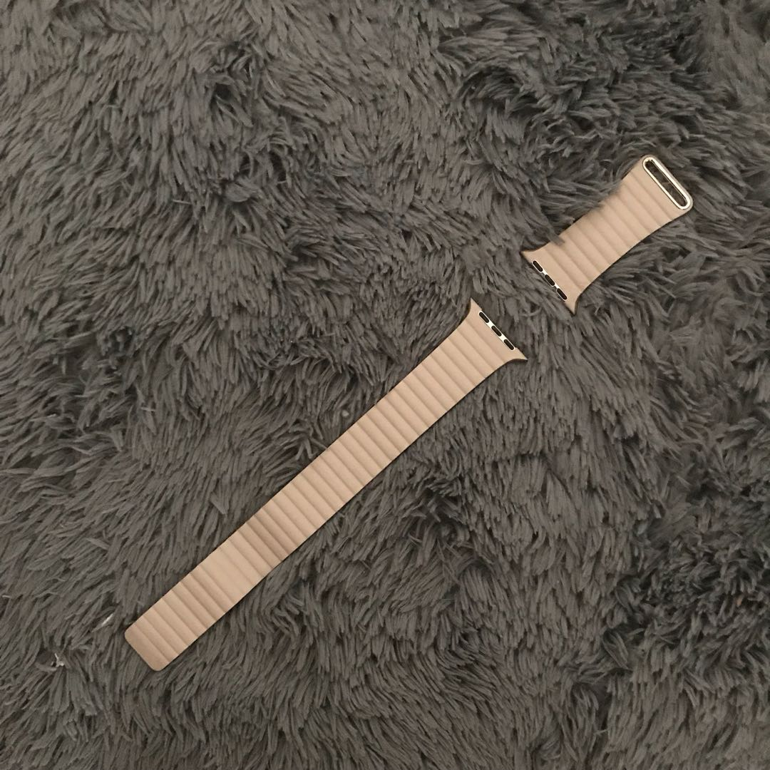 Apple Watch 42mm Leather Strap