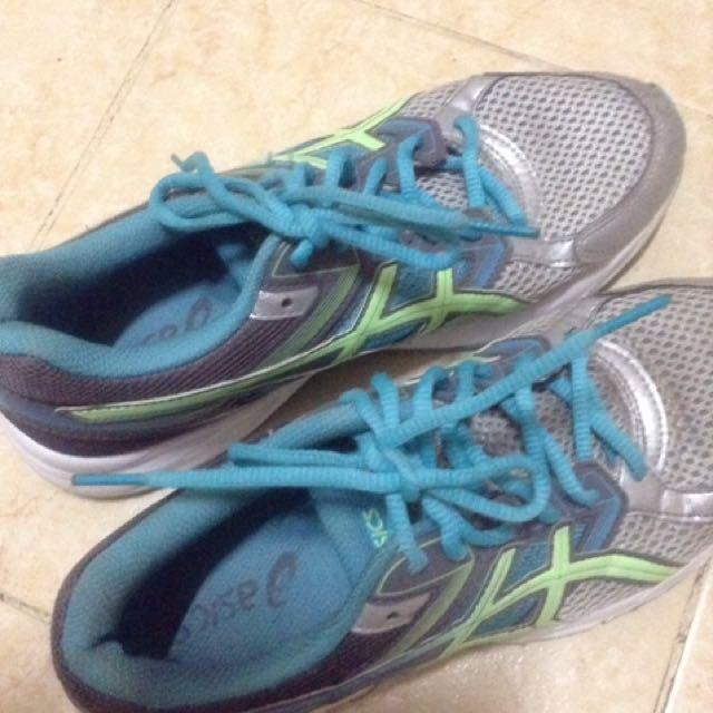 Asics rubber shoes