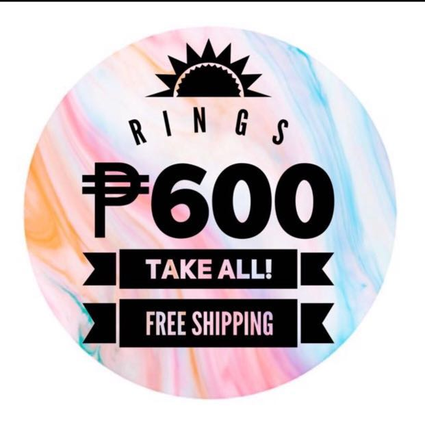 ASSORTED RINGS - TAKE ALL - FREE SHIPPING!