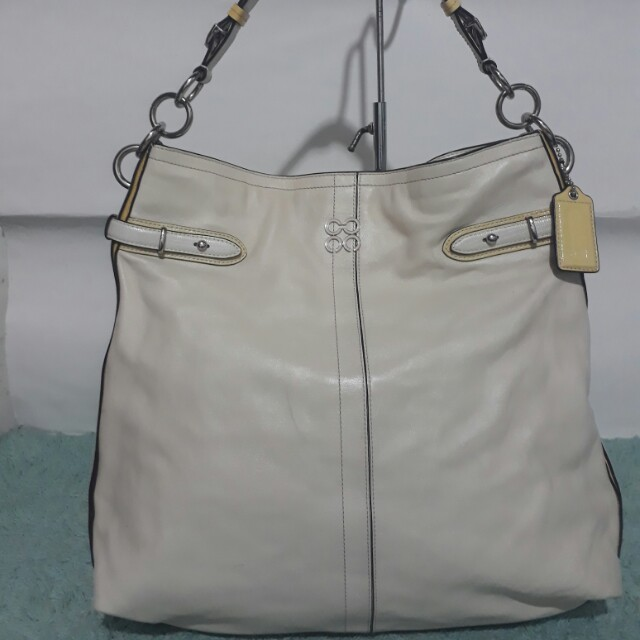 Authentic Coach Colette large leather Hobo