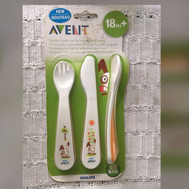 Avent Toddler Cutlery Set