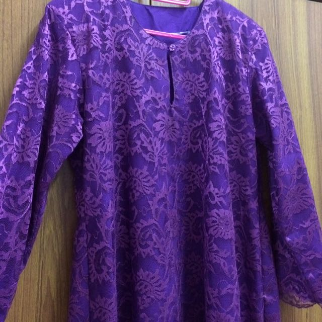 Baju Kurung French Lace