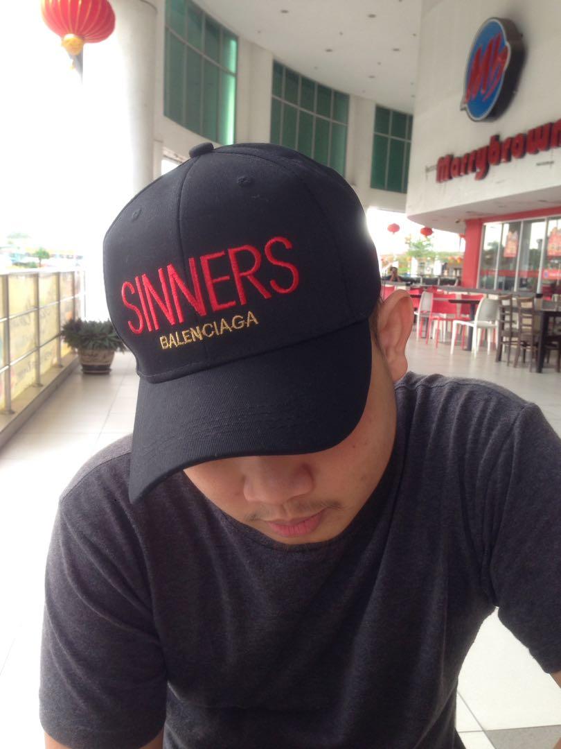 2d87eb9a129 Balenciaga  sinners  cap