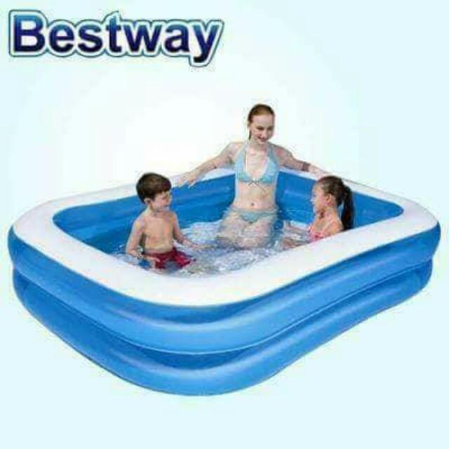 Bestway 2 layer inflatable pool