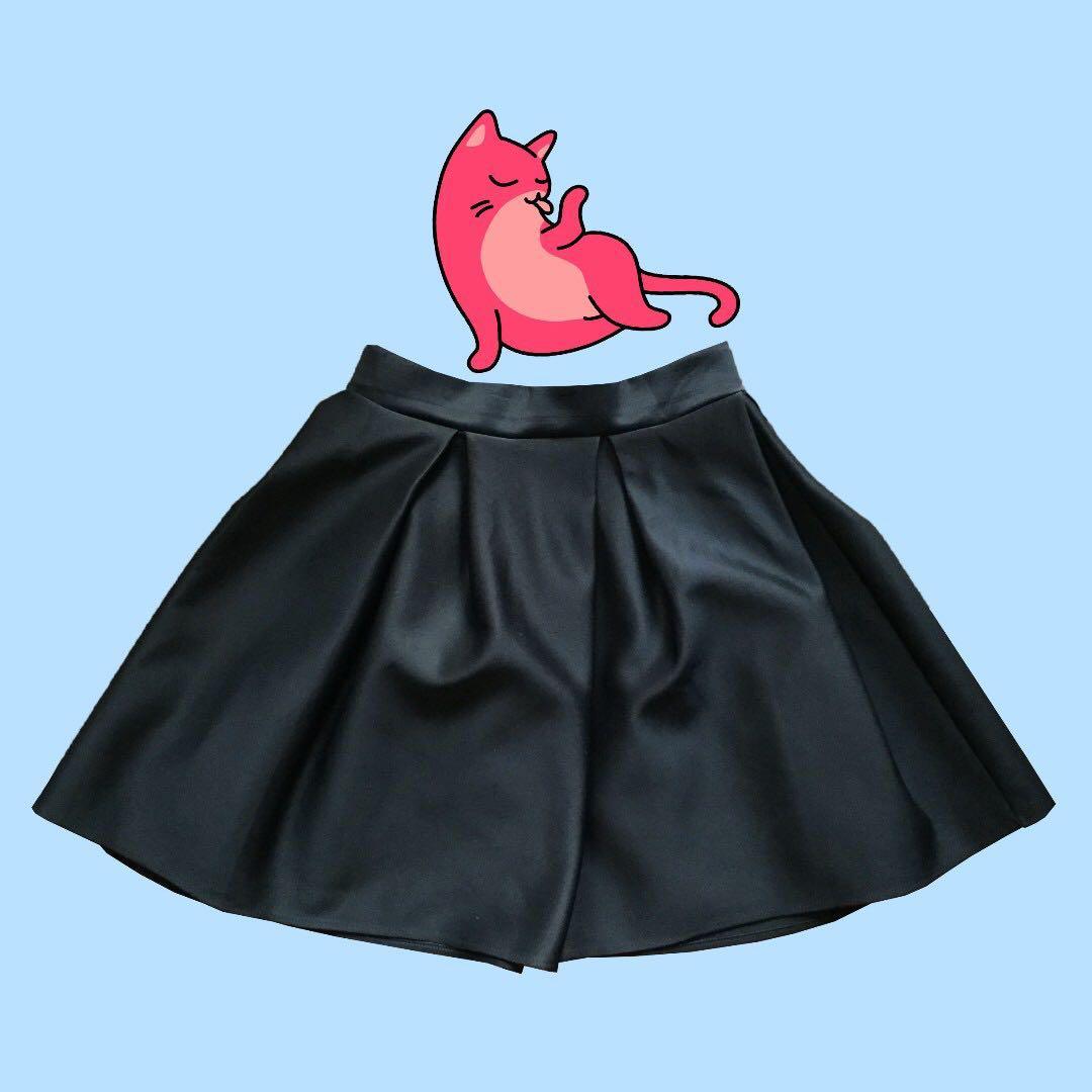 Black  neoprene skirt
