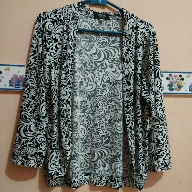 blazer batik