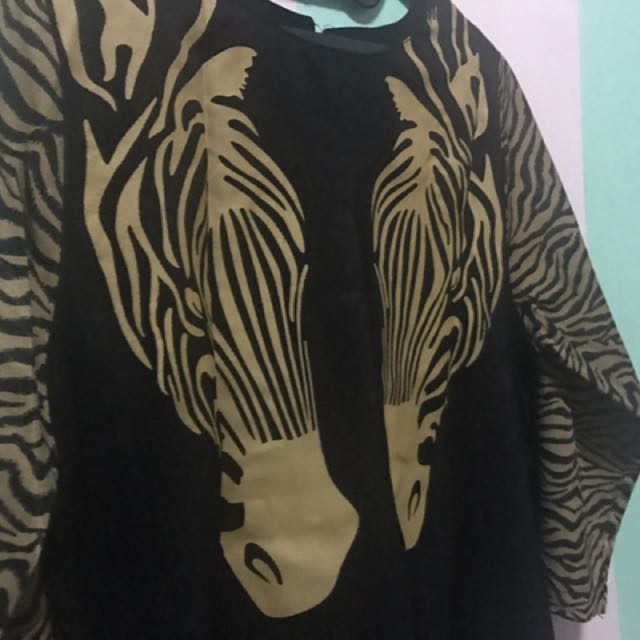 Blouse Zebra ~ Big Size
