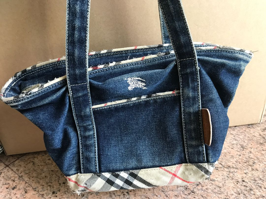 edcba71376f Blueberry Blue label tote bag, Women's Fashion, Bags & Wallets on ...