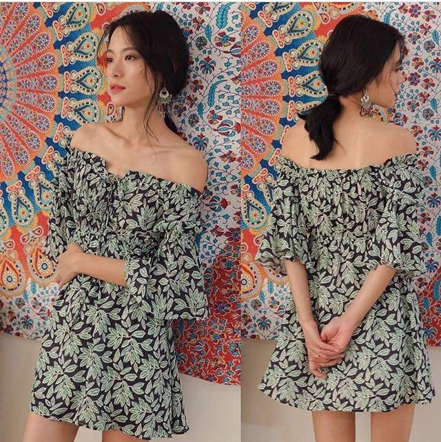 Boho summer dress (M)