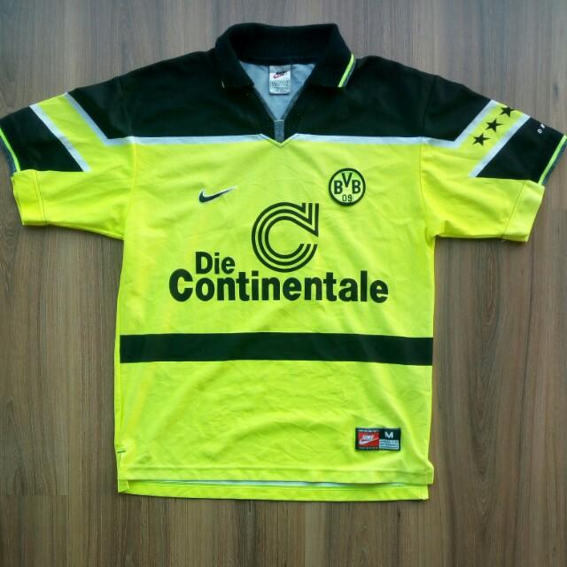 Borussia Dortmund 1997 Nike home jersey jersi 8b6c50f91