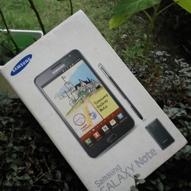 Box Samsung Galaxy Note 1 N7000