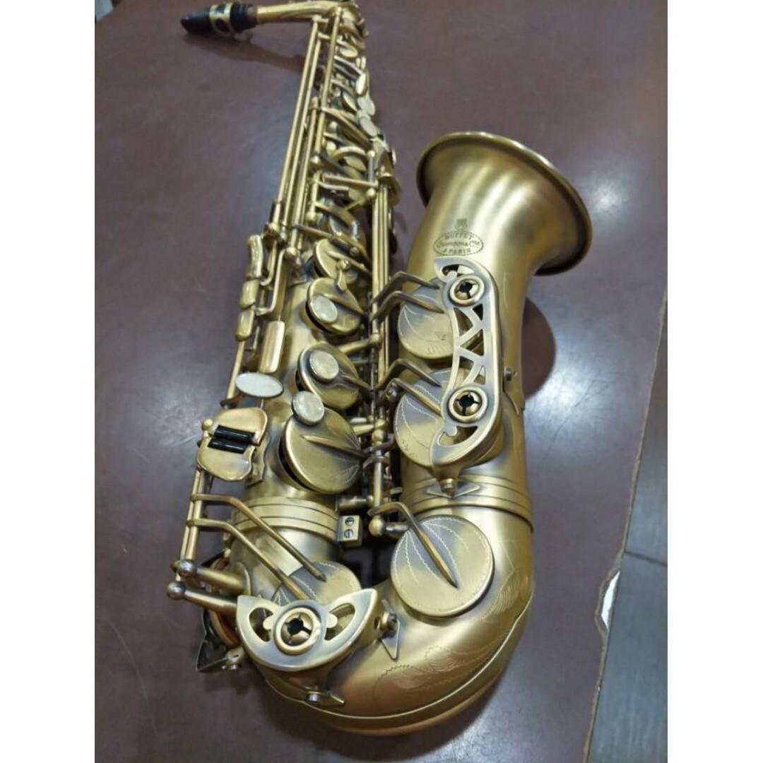 buffet crampon cie a paris alto 400 series saxophone bc4730 music rh my carousell com