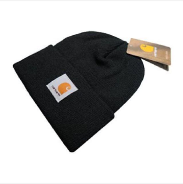 Carhartt A18 Acrylic Watch Hat 針織毛帽 黑色