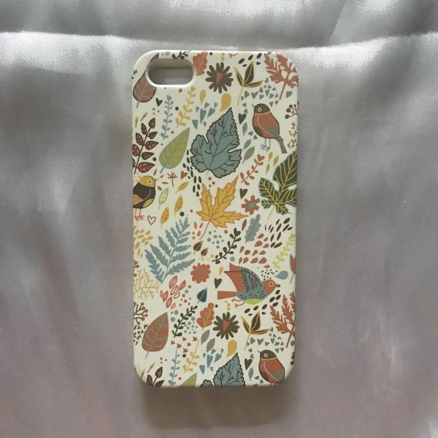 Casing iphone 5 floral