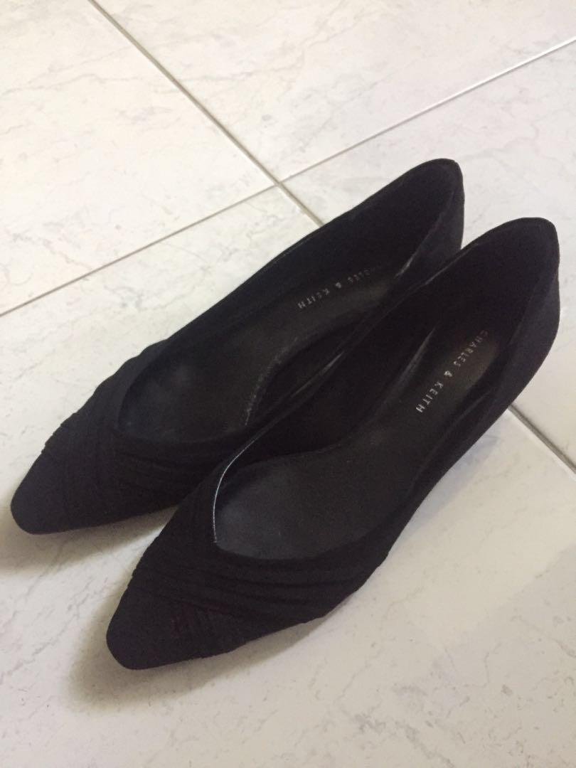 Charles and Keith Pointed wedges