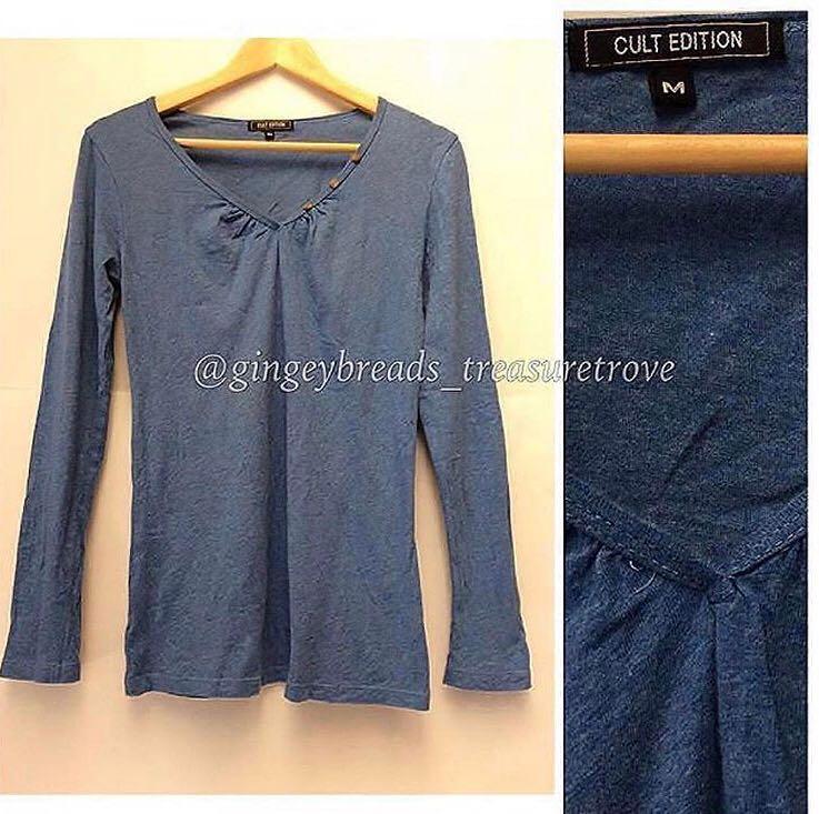 Cult Edition Light Blue Long Sleeved Top