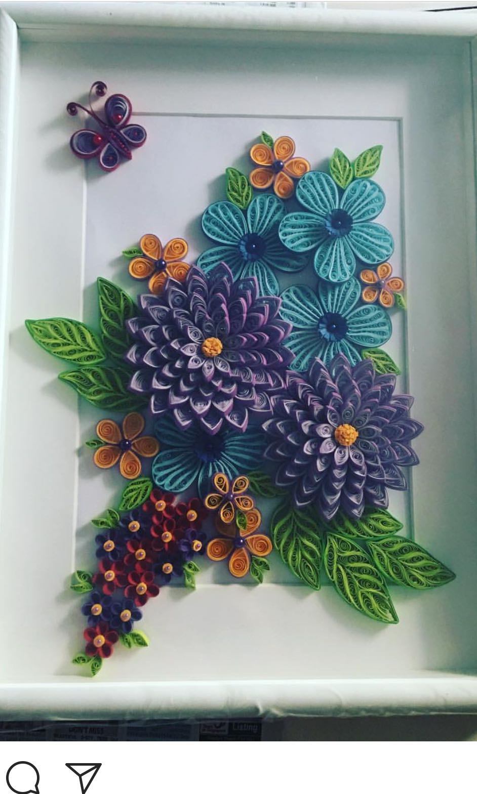 customisable paper quilling wall hangings design craft handmade rh sg carousell com quilling wall hanging designs images quilling designs wall hangings
