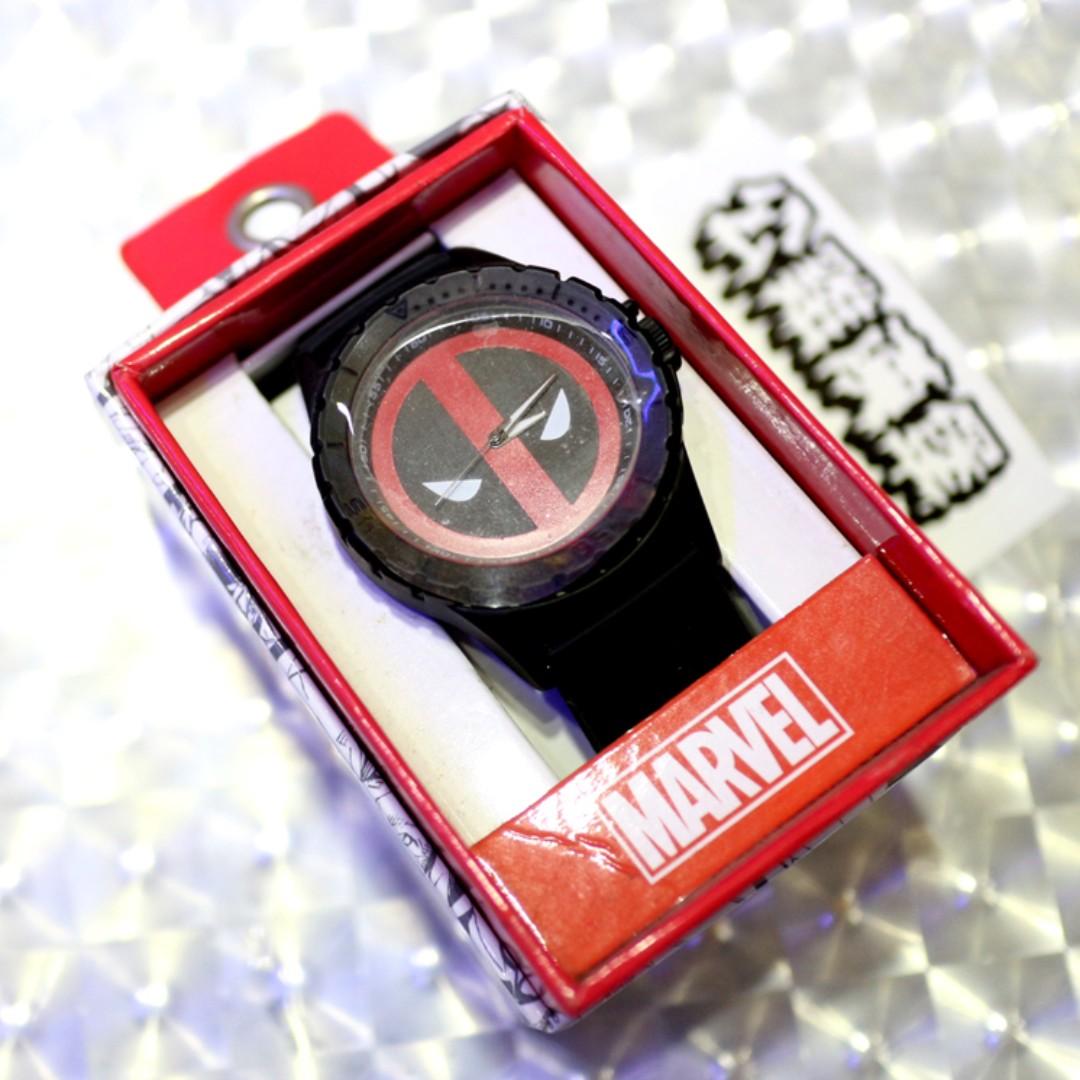 「Deadpool Marvel 漫威 死侍 手錶 @公雞漢堡」