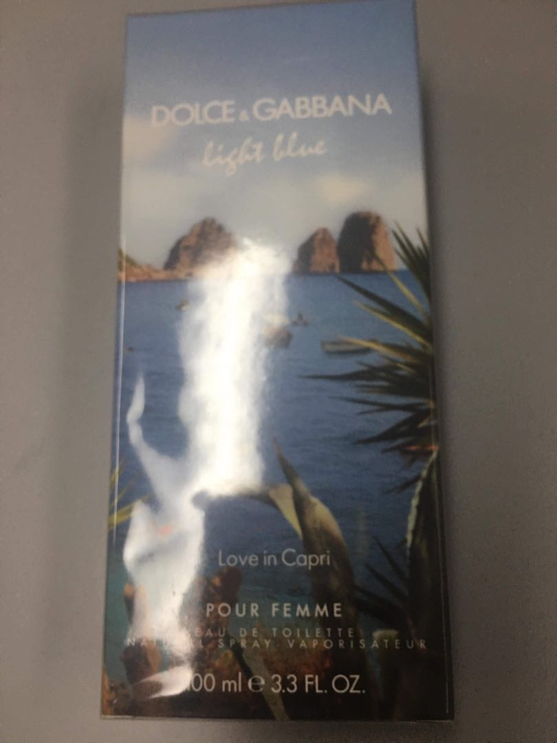Dolce and Gabbana Perfume (Love in Capri)