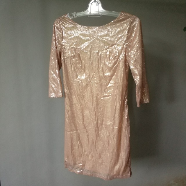 Dorothy perkin original sequin shimmer dress party glitter bodycon