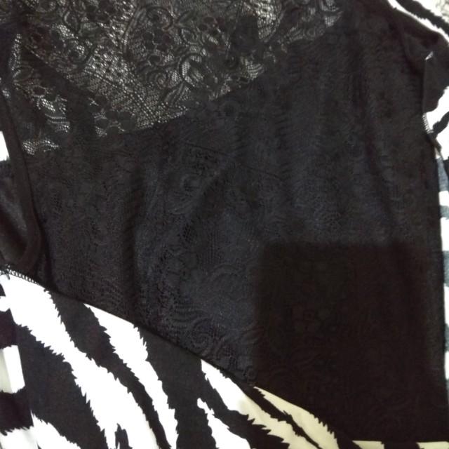 dress garis zebra